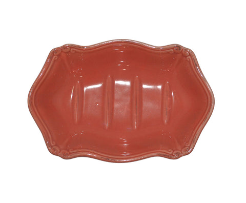 Royale Bath Soap Dish Persimmon