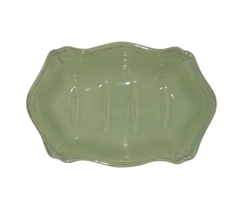 Royale Bath Soap Dish Sage