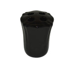 Royale Bath Tooth Brush Holder Black