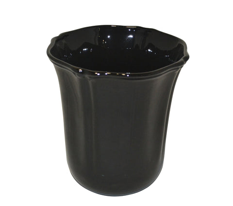 Royale Bath Waste Basket Black