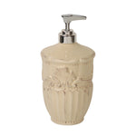Ana Soap/Lotion Dispenser with Metal Pump Almond