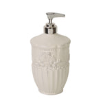 Ana Soap/Lotion Dispenser with Metal Pump White