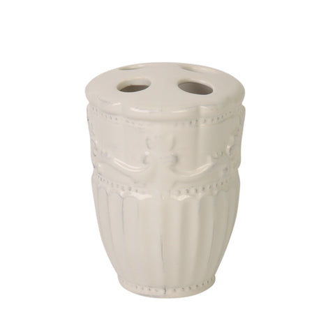 Ana Tooth Brush Holder White