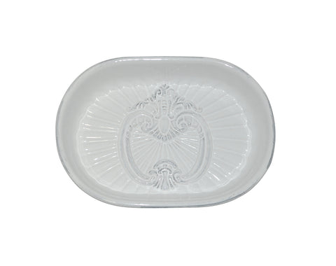Crista Soap Dish White