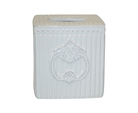 Crista Tissue Holder White