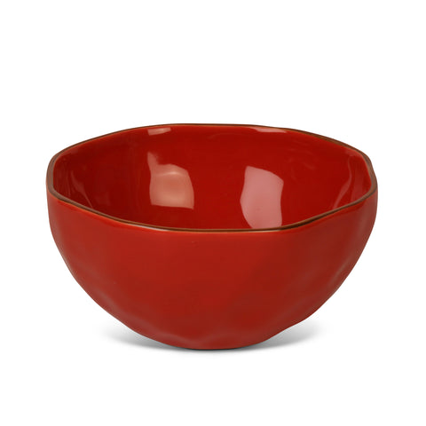Cantaria Cereal Bowl Poppy Red