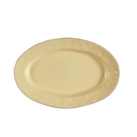 Cantaria Small Oval Platter Yellow