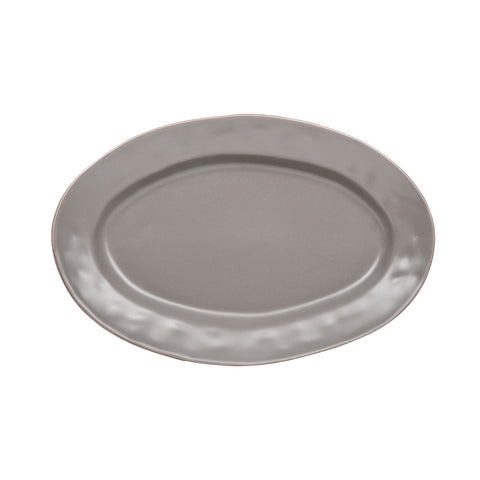 Cantaria Small Oval Platter Charcoal