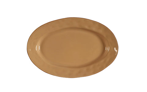 Cantaria Small Oval Platter Caramel