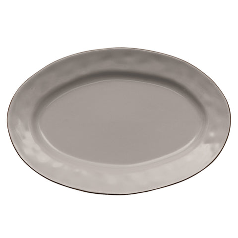 Cantaria Small Oval Platter Greige