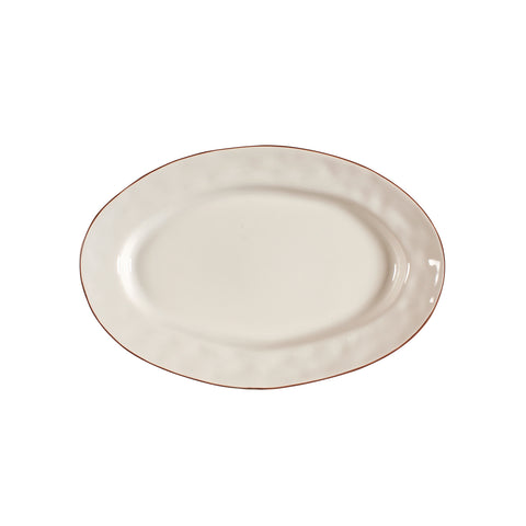 Cantaria Small Oval Platter Ivory
