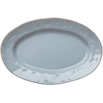 Cantaria Small Oval Platter Morning Sky