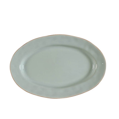 Cantaria Small Oval Platter Sheer Blue