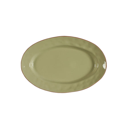 Cantaria Small Oval Platter Sage