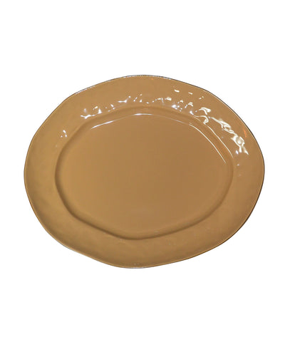 Cantaria Large Oval Platter Caramel