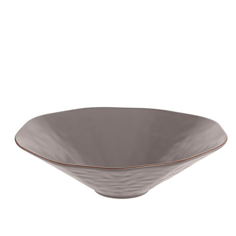 Cantaria Centerpiece Bowl Charcoal
