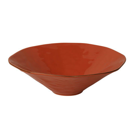 Cantaria Centerpiece Bowl Persimmon