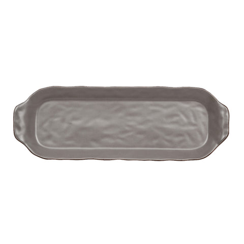 Cantaria Rectangular Tray Charcoal