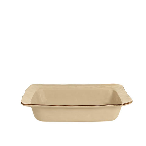 Cantaria Medium Rectangular Baker Sand