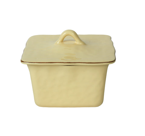 Cantaria Square Covered Casserole Almost Yellow