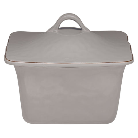 Cantaria Square Covered Casserole Greige