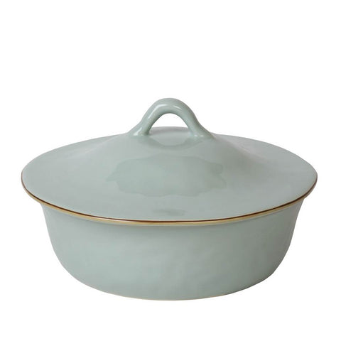 Cantaria Round Covered Casserole Sheer Blue