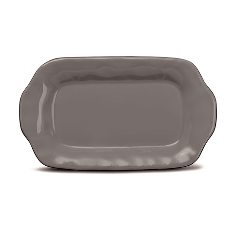 Cantaria Butter/Sauce Server Tray Charcoal