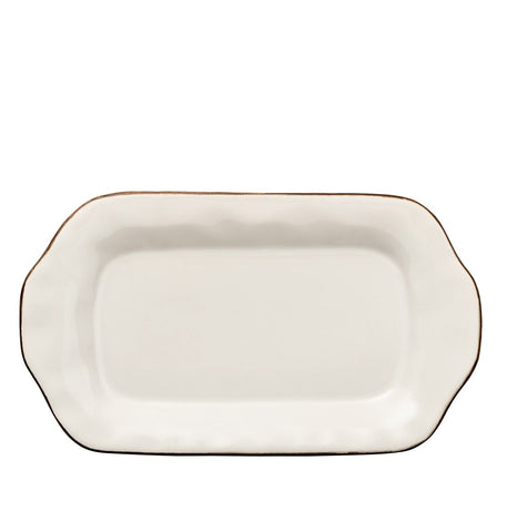 Cantaria Butter/Sauce Server Tray Ivory