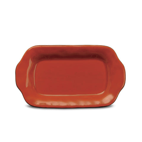 Cantaria Butter/Sauce Server Tray Persimmon