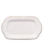 Cantaria Butter/Sauce Server Tray White