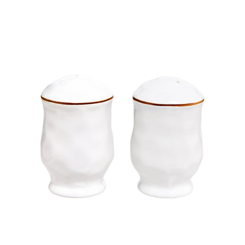 Cantaria Salt and Pepper Set White