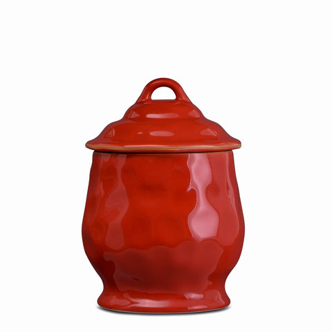 Cantaria Small Canister Poppy Red