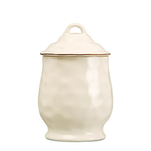 Cantaria Medium Canister Ivory