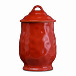 Cantaria Large Canister Poppy Red