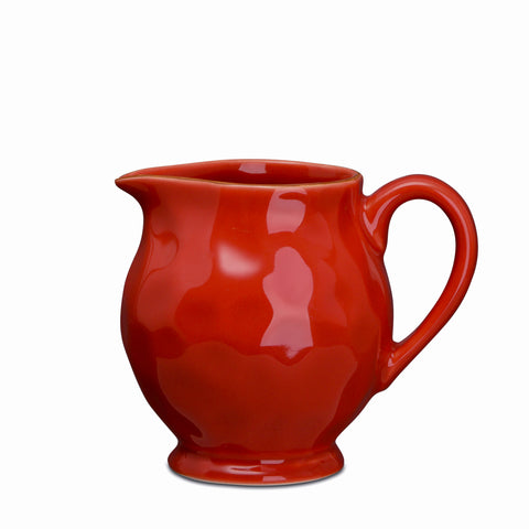 Cantaria Creamer Poppy Red