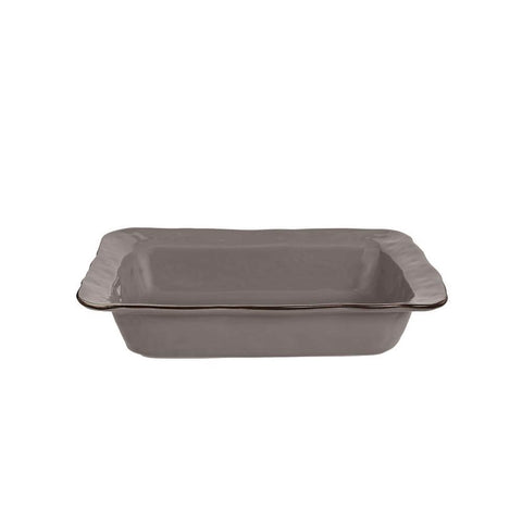 Cantaria Small Rectangular Baker Charcoal