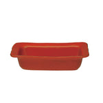 Cantaria Small Rectangular Baker Persimmon