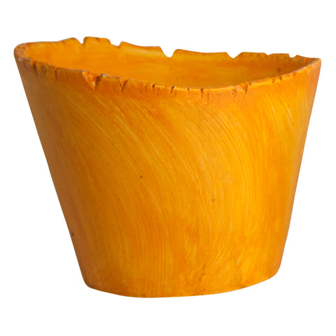 Large Planter Pumpkin Orange