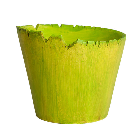 Medium Planter Lime Green