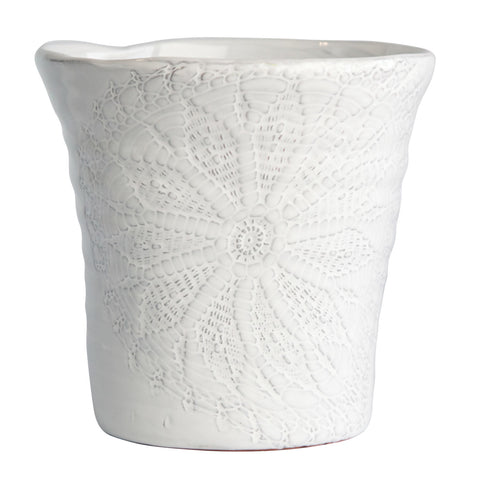 Floral Lace Extra Large Planter