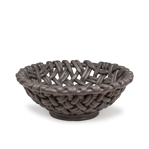 Round Basket Charcoal