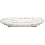 Oval Basket White