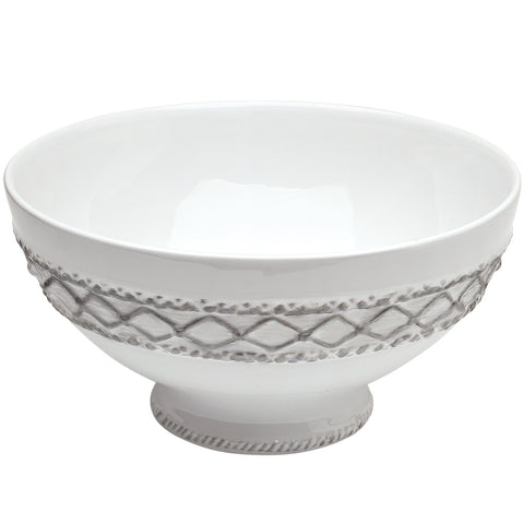 Alegria Silver Serving Bowl