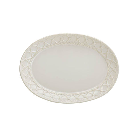 Alegria Small Oval Platter Natural Linen