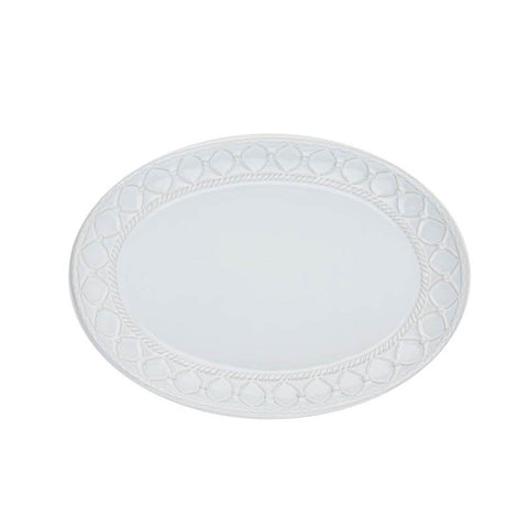 Alegria Small Oval Platter Simply White