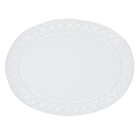 Alegria Large Oval Platter Simply White