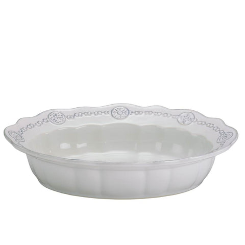 Villa Beleza Serving Bowl Vintage White