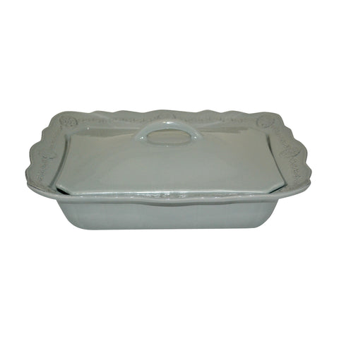 Villa Beleza Covered Casserole Slate