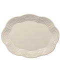 Legado Oval Platter - Pebble - No Engraving