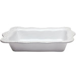 Legado Rectangular Baker - White
